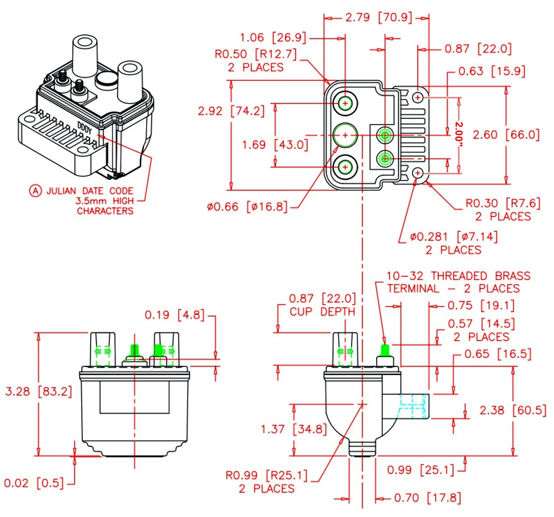 DF Coil Dim power arc coils Dual Voice Coil Subwoofer Wiring Diagram at soozxer.org
